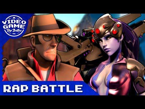 Sniper vs. Widowmaker - Video Game Rap Battle