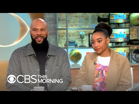 Common and Amandla Stenberg on tackling the nuances of