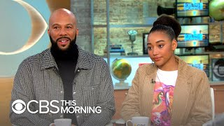 "Common and Amandla Stenberg on tackling the nuances of ""blackness"" in ""The Hate U Give"""