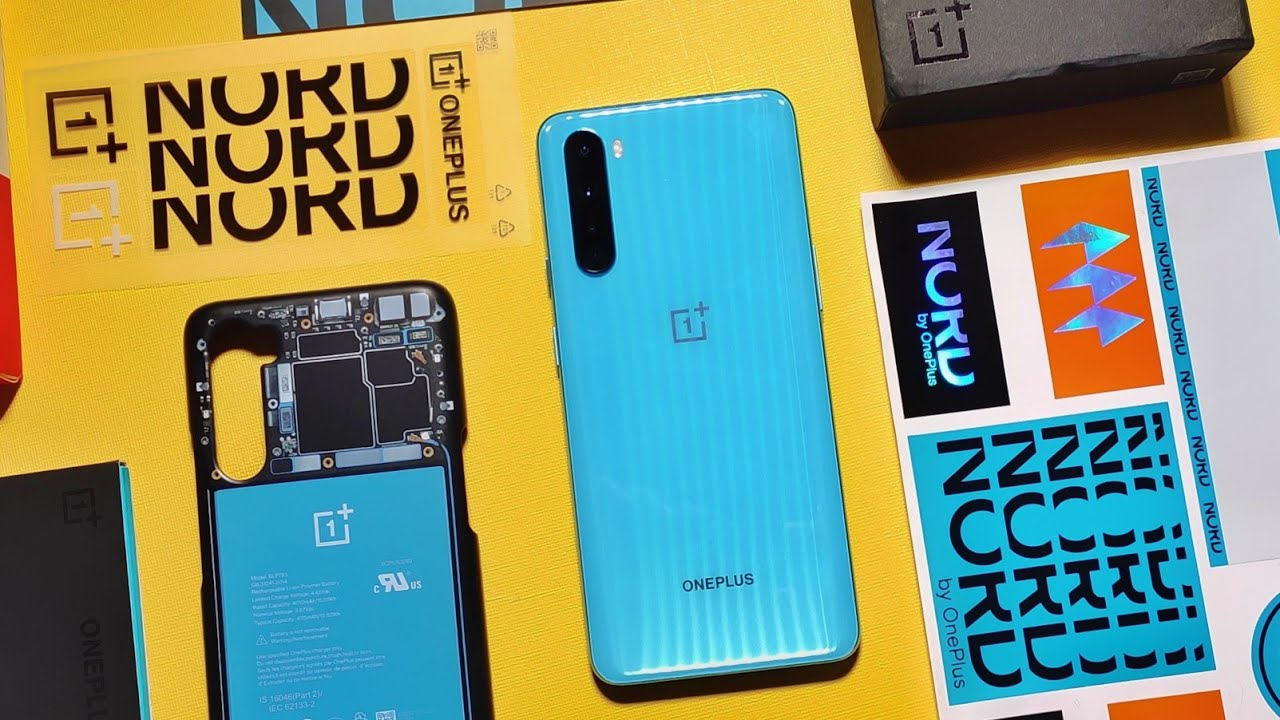 OnePlus Nord Indian Retail Unit Unboxing | OnePlus Nord 5G Unboxing | OnePlus Nord Camera Samples 😪