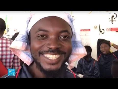 مهاجرون يصلون إلى بر الأمان في إسبانيا  - نشر قبل 25 دقيقة