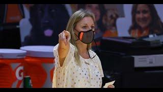 Coach Kellie Harper post-game vs. UConn
