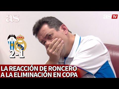 ALCOYANO 2- REAL MADRID 1 | Roncero entre el pánico y la humillación al ver el Alcoyanazo | AS