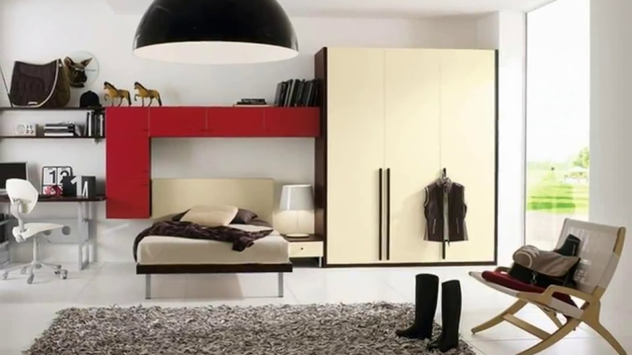 schlafzimmer ideen f r teenager jungs youtube. Black Bedroom Furniture Sets. Home Design Ideas