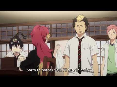 Rin the blue exorcist got drunk (Part 1)