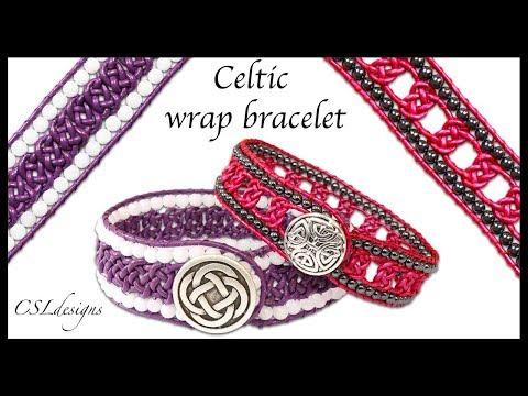 How To Celtic Wrap Bracelet