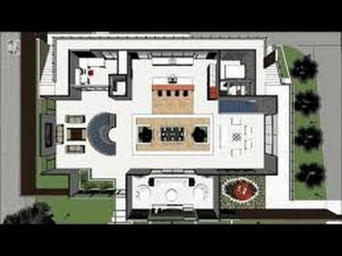 Planos de casa minimalista youtube for Casa minimalista roja