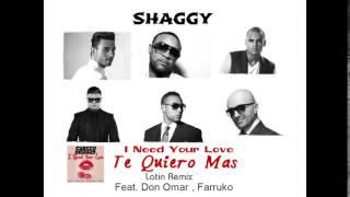 shaggy ft don omar farruko faydee mohombi costi te quiero mas remix reggaeton 2015