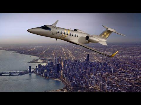 Dévoilement du Learjet 75 Liberty