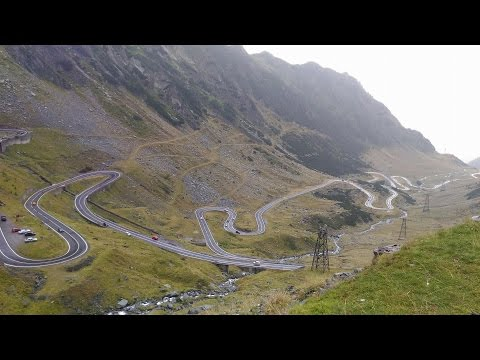 Transfagarasan Best Road FULL - Romania #90KM by car #DASH CAM FHD 2016