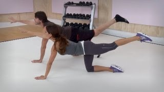 Full Body Workout Using Three Exercises with Brooke Burke - Workout Wednesday
