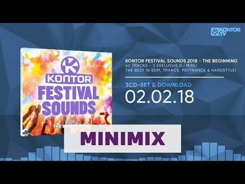 Kontor Festival Sounds 2018 - The Beginning (Official Minimix HD)