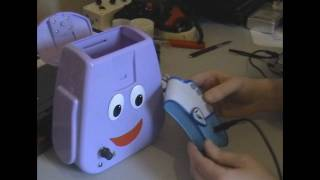 Circuit Bent Goodie Bag - Dora the Explorer BackPack by freeform delusion
