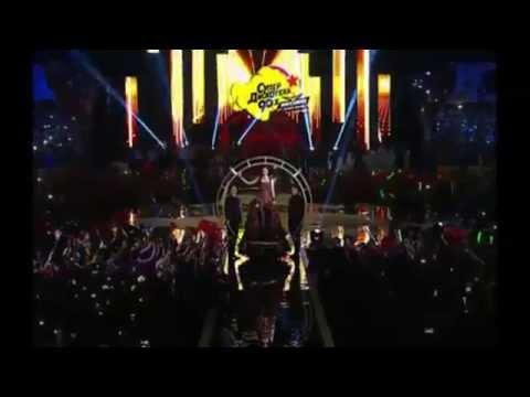Natalia Oreiro volvió a cantar y convocó a una multitud en Rusia