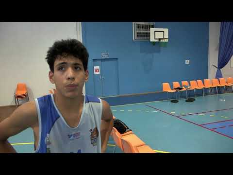 Résume MPBA contre Vesoul( U15France match aller )