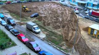 Смотреть видео Выполнение работ по Благоустройству дворов