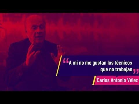 """Carlos Antonio Vélez: """"Si los jugadores llegan bien, a Colombia le irá bien"""""""