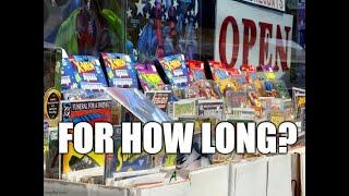 The American Comic Book Direct Industry is Dying - #HardcoreNerding