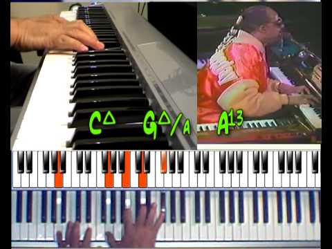 Stevie Wonder My Cherie Amour Chord Video Youtube