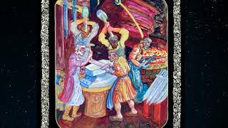 Картина «Нижегородские кузнецы. Оружие для ополченцев 1612 года»