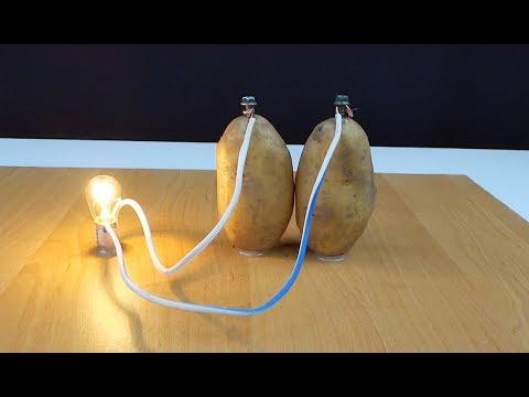 Если в деревне нет света, но есть хороший урожай картошки