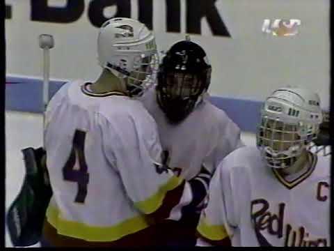 1995 Minnesota High School Hockey Tournament - Hutchinson Tigers Vs. Red Wing Wingers