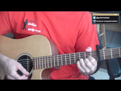 David Nail - Kiss You Tonight (Acoustic) - Guitar Tutorial