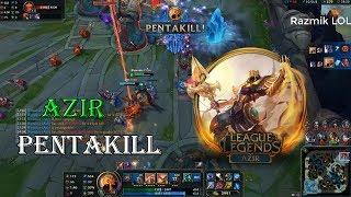 Azir Montage #3 - Best Azir Plays Compilation - Azir Guide[Razmik LOL]