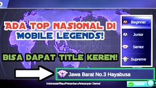 ADA TOP HERO JALAN,KOTA,PROVINSI? Bisa dapatin title jg! Gini caranya! Mobile legends