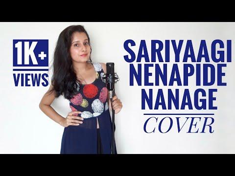 Sariyaagi Nenapide Nanage Female Cover| Mungaru Male 2 | Riya D'souza Cover