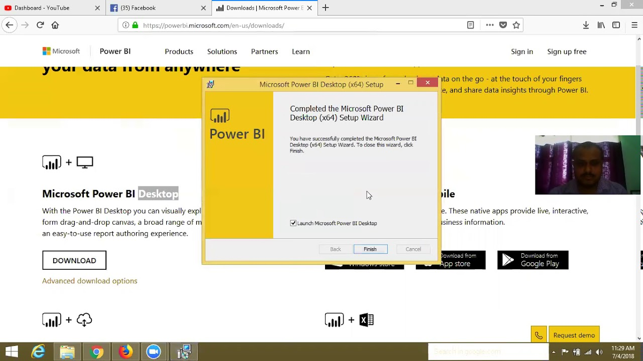 Power BI Desktop Version Download and Install