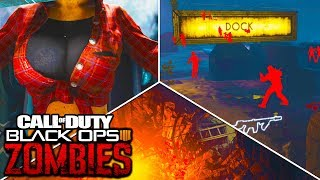 10 OUTSIDE THE MAP SECRETS IN BLACK OPS 4 ZOMBIES! (Aether Maps)