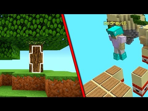 TROLLEANDO CON SKIN INVISIBLE Y YOUTUBER FAMOSO USA HACKS | MINECRAFT MOMENTOS GRACIOSOS SKYWARS