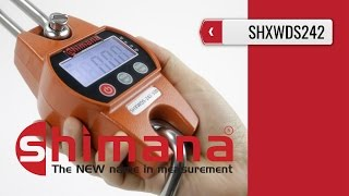 SHIMANA SHXWDS242 - Hanging Scale 100-300 kg (product video presentation)