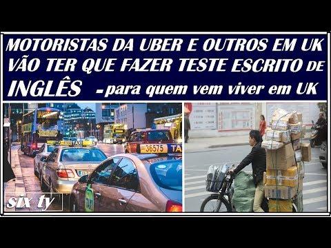 TESTE  ESCRITO DE INGLÊS PARA MOTORISTAS UBER, MINI-CAB E OUTROS EM UK
