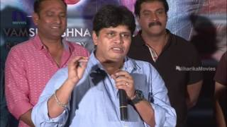 Roller Raghu Speech at Jakkana Movie Success Meet || Sunil, Manara Chopra