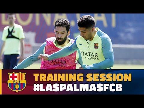 Laser-like focus on Las Palmas