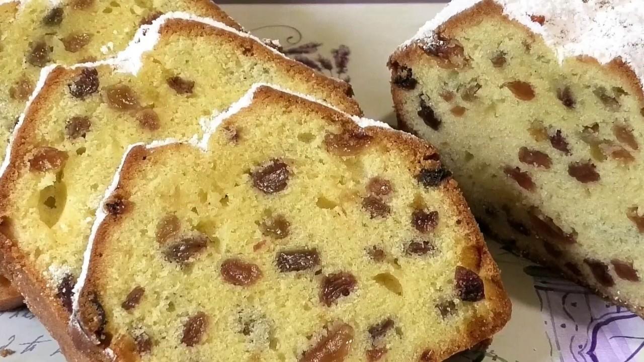 Популярный с детства «КЕКС СТОЛИЧНЫЙ» / Cupcake metropolitan with raisins.
