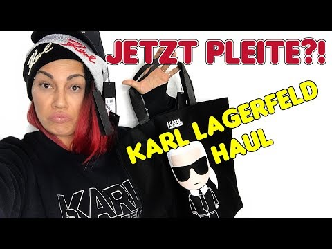 Ein Auf Millionär?! Karl Lagerfeld Luxus Online Shopping Try On Haul