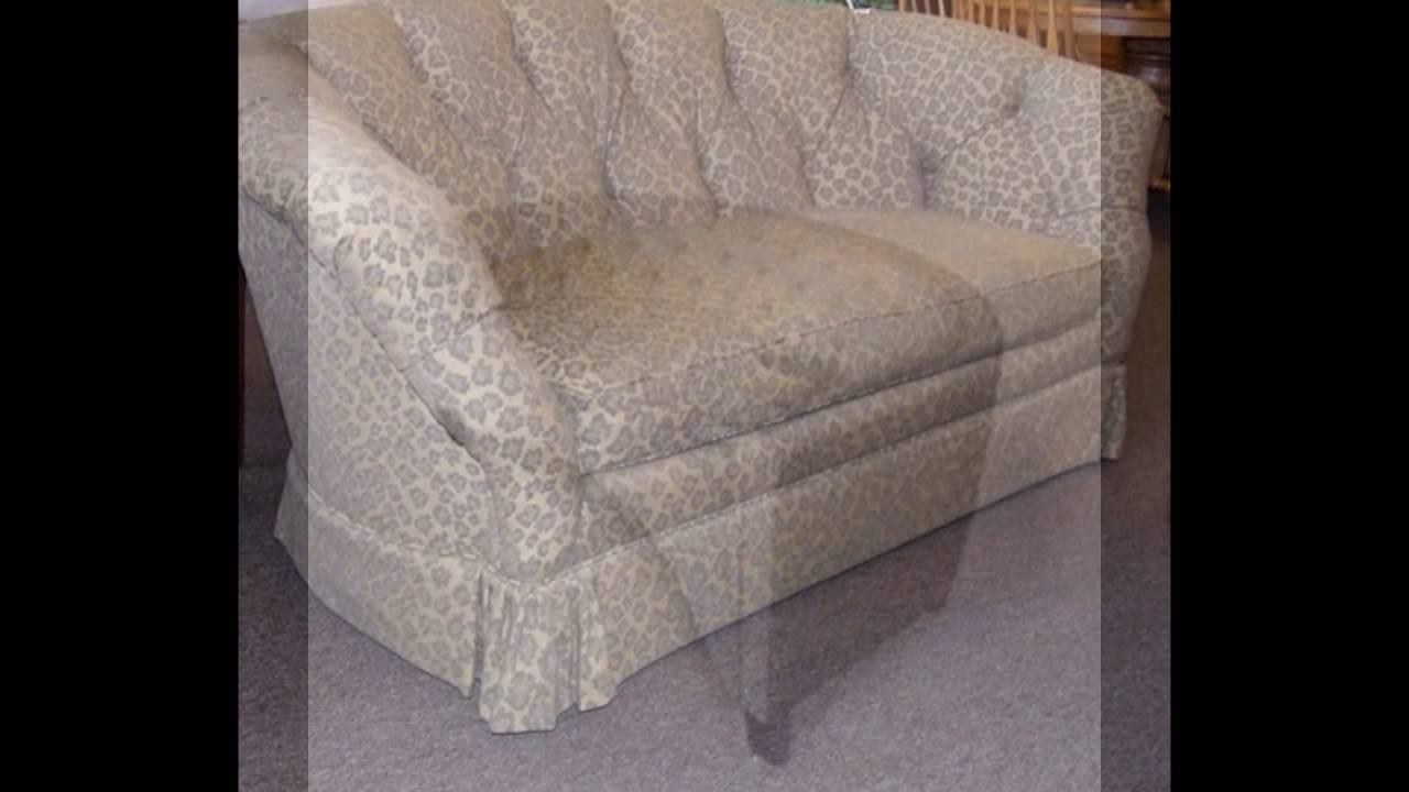 Curved Loveseat Sofa   YouTube