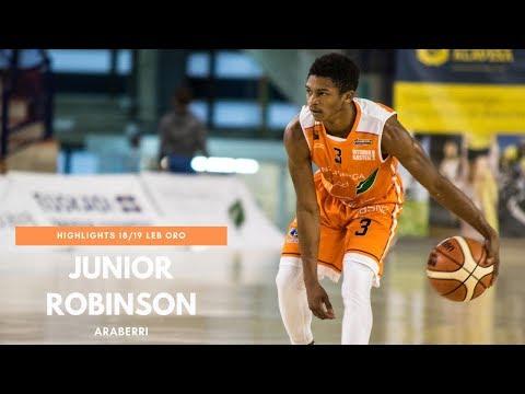 Junior Robinson Highlights Araberri (LEB Gold) 2018/2019