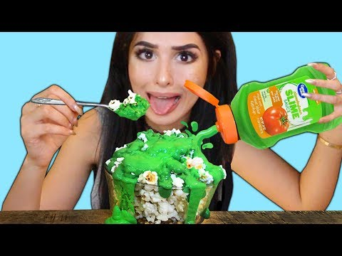 WEIRD Food Combinations People LOVE!! EATING GROSS DIY FOOD