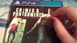 Sherlock Holmes Crimes and Punishments PS4 *ASMR*
