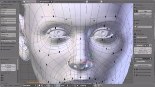 blender tutorial:Sculpting a Human Head