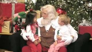 Lena & Dub visit Santa Claus at Phipps Plaza, 12/4/2006
