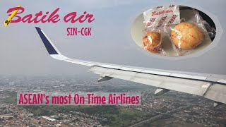 Batik Air Flight Experience | ID7154 | Singapore to Jakarta