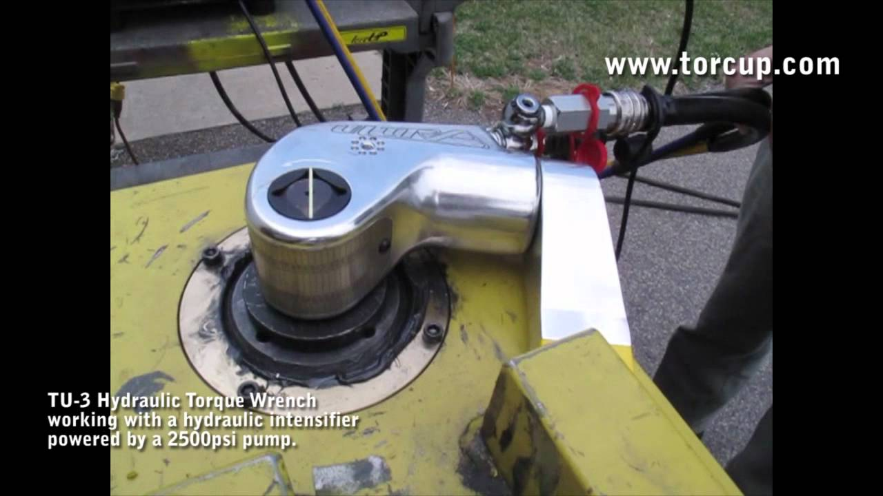 Hydraulic Intensifier - Square Drive Hydraulic Torque Wrench
