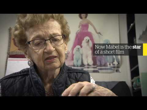 Mabel has been cutting hair for 70 years and has no plans to stop