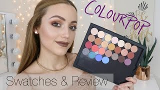 NEW Colourpop Pressed/ Powder Eyeshadows | Swatches & Mini Reviews