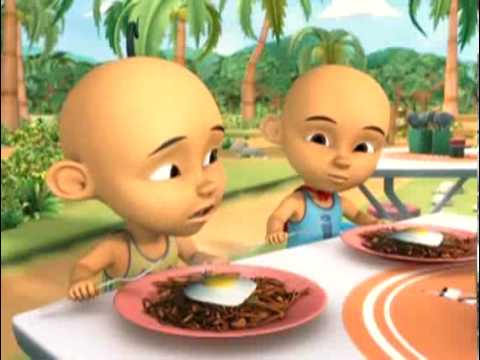 uPIN & Ipin 3 - Anak Harimau  (part 1) Travel Video